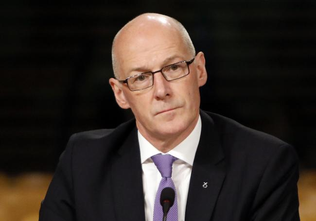 John Swinney said coronavirus is a very real threat
