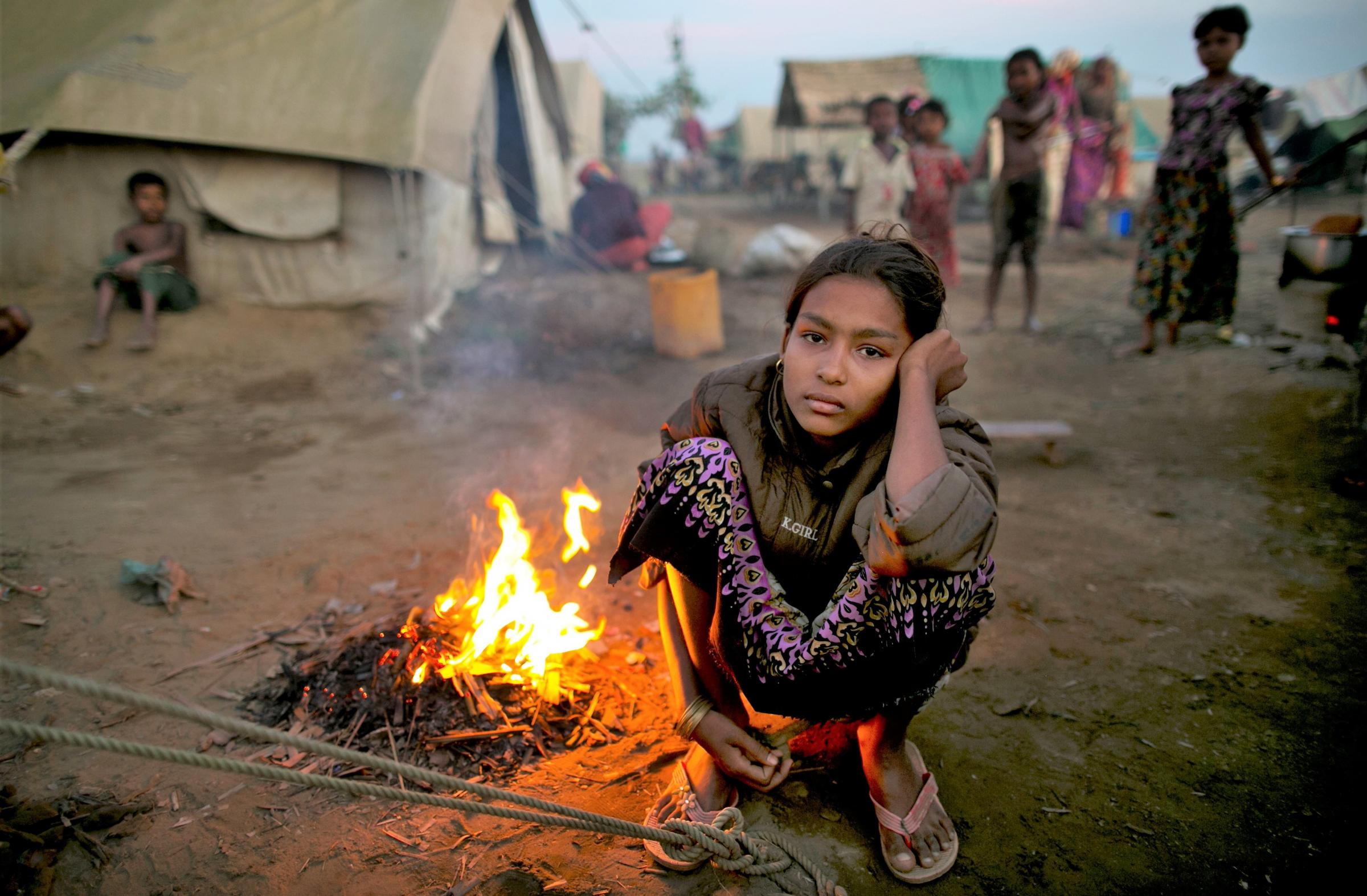 The Rohingya community continue to suffer. Photograph: Getty