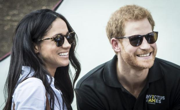 The National: Prince Harry and Meghan Markle