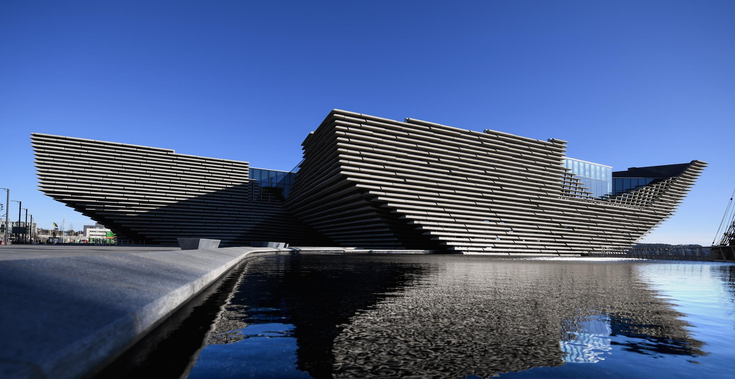 The V&A design museum in Dundee