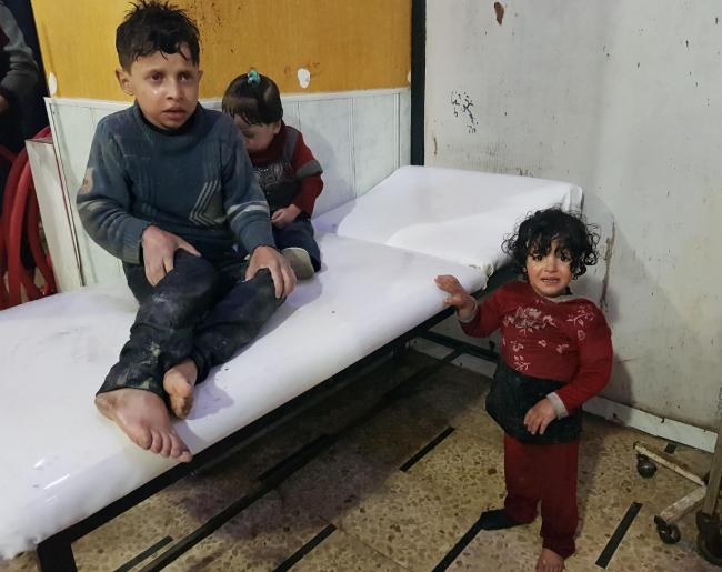 The report says many Syrians are living in 'untenable' conditions