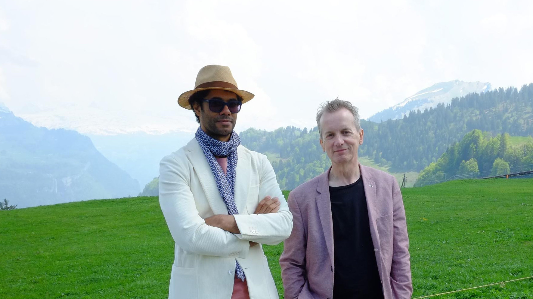 Richard Ayoade is joined by Frank Skinner in Travel Man