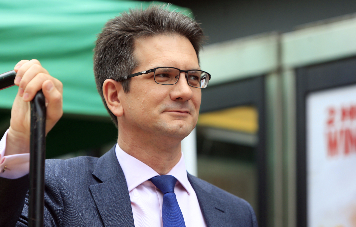 Steve Baker said he was 'gravely worried' for the future of his party