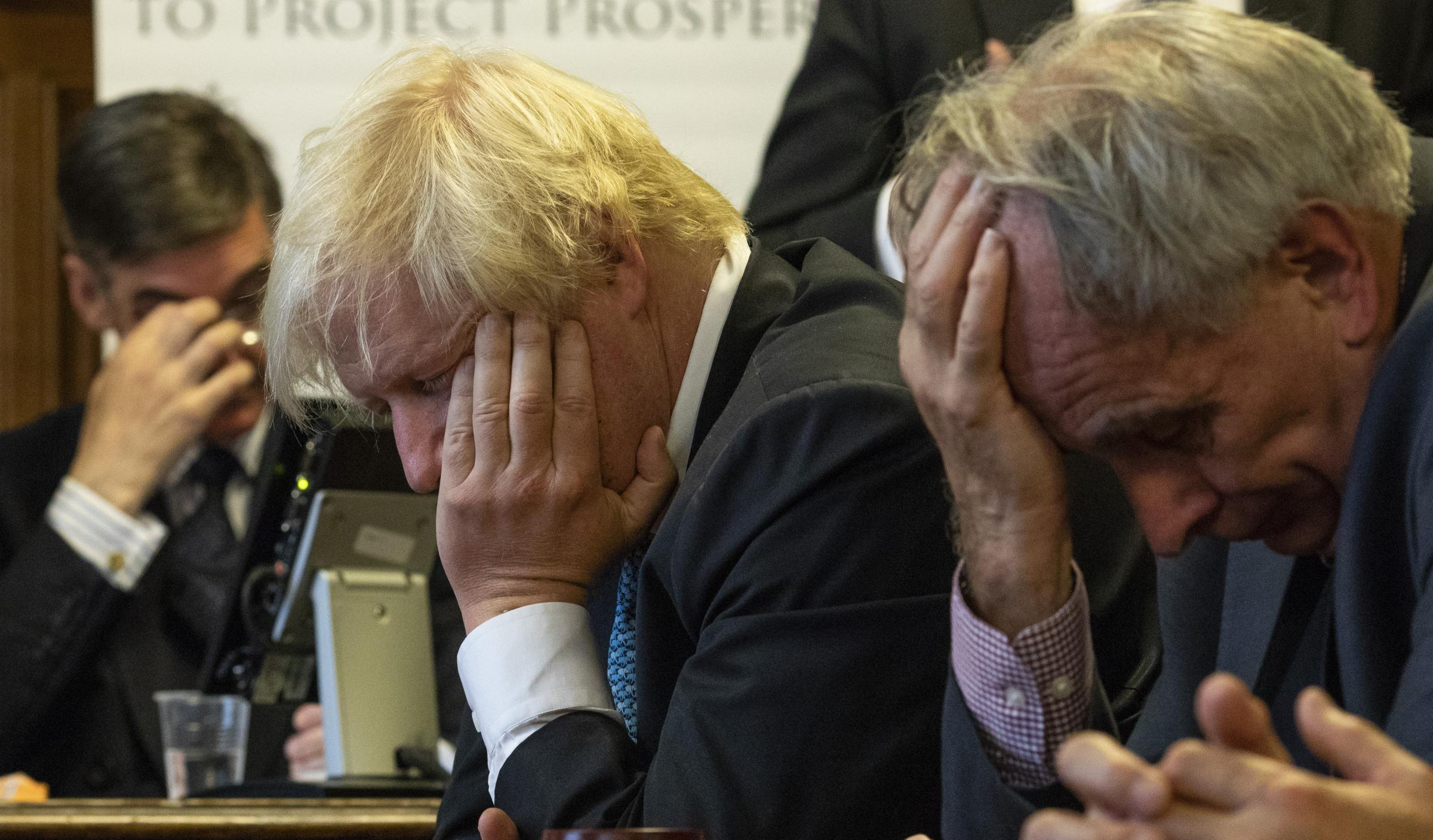 Boris Johnson is one of four leaders of the 'Acrapolypse'