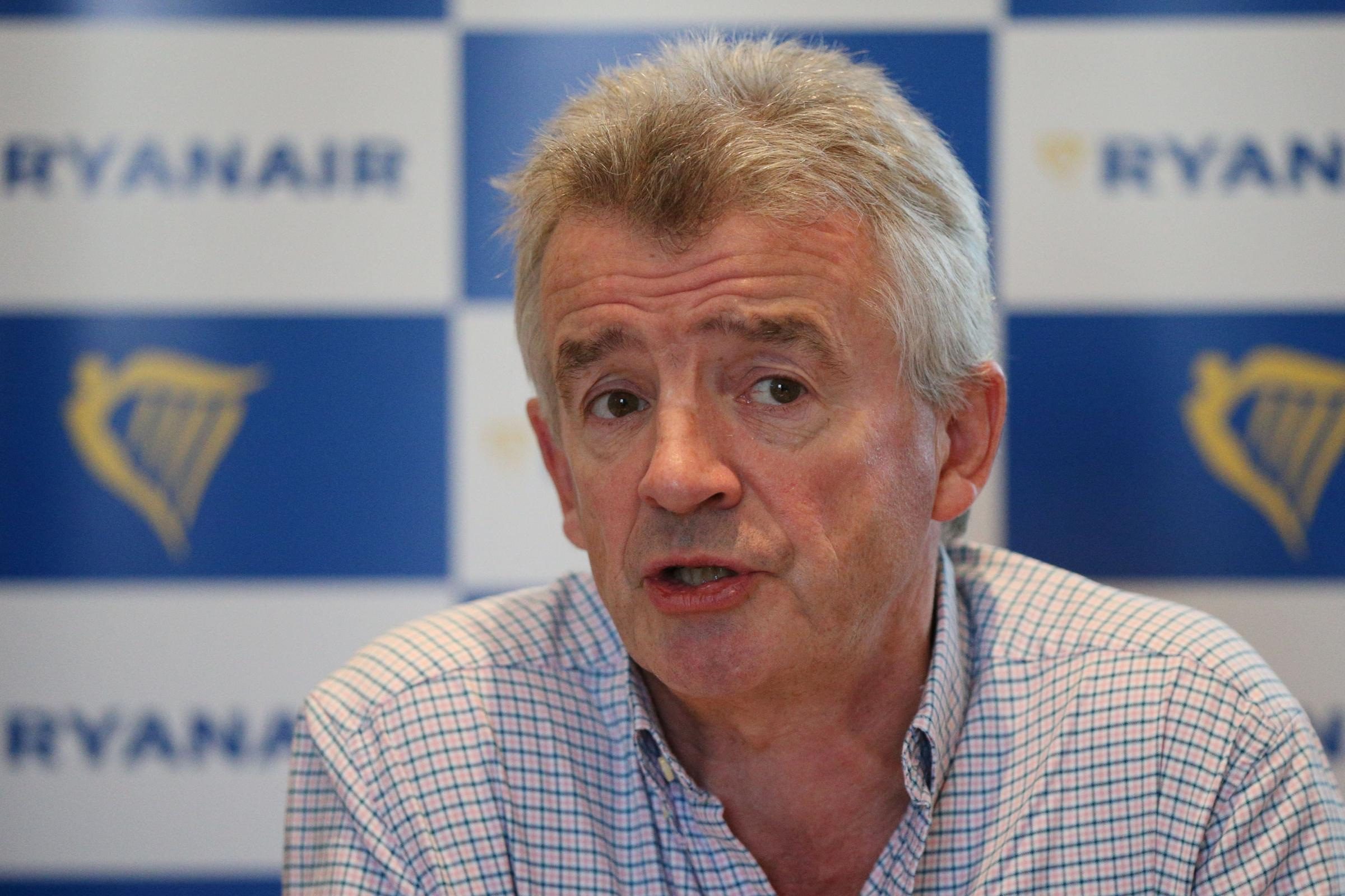 Ryanair boss under fire after 'awful' call for Muslim men to be profiled