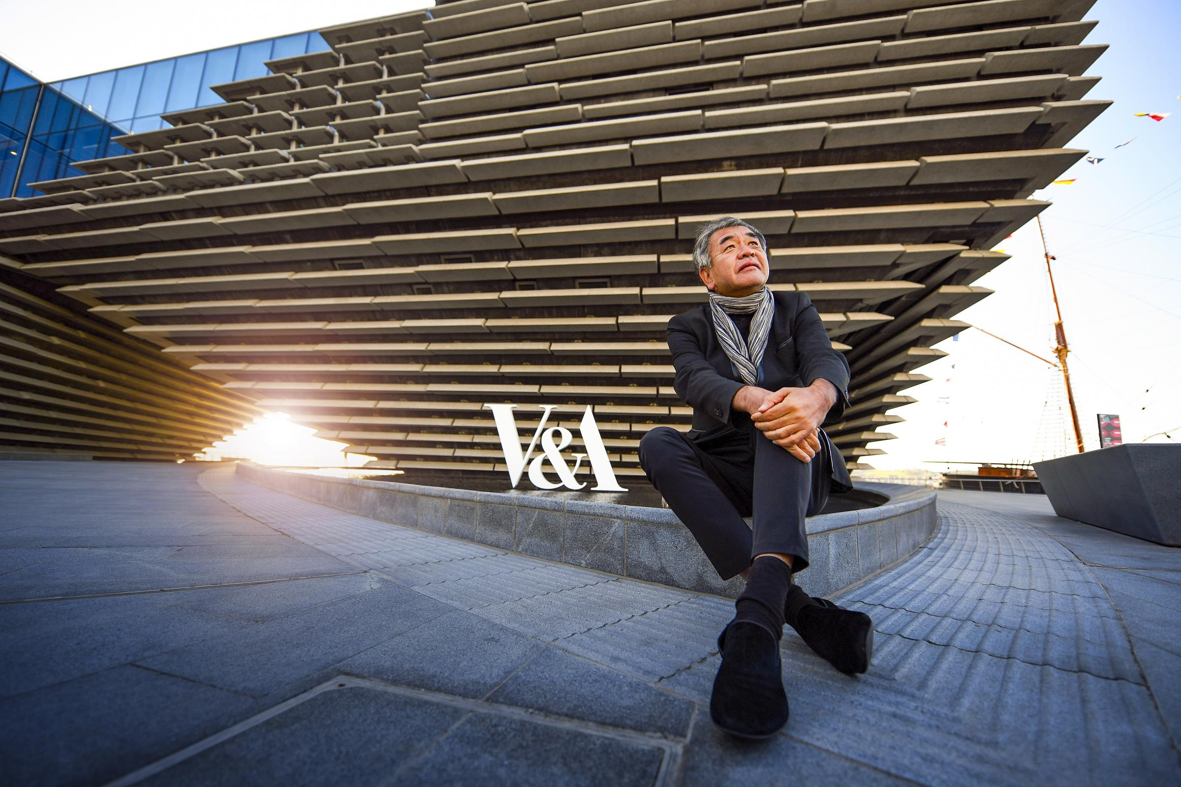Kengo Kuma, the architecht who designed the new V&A museum of Design