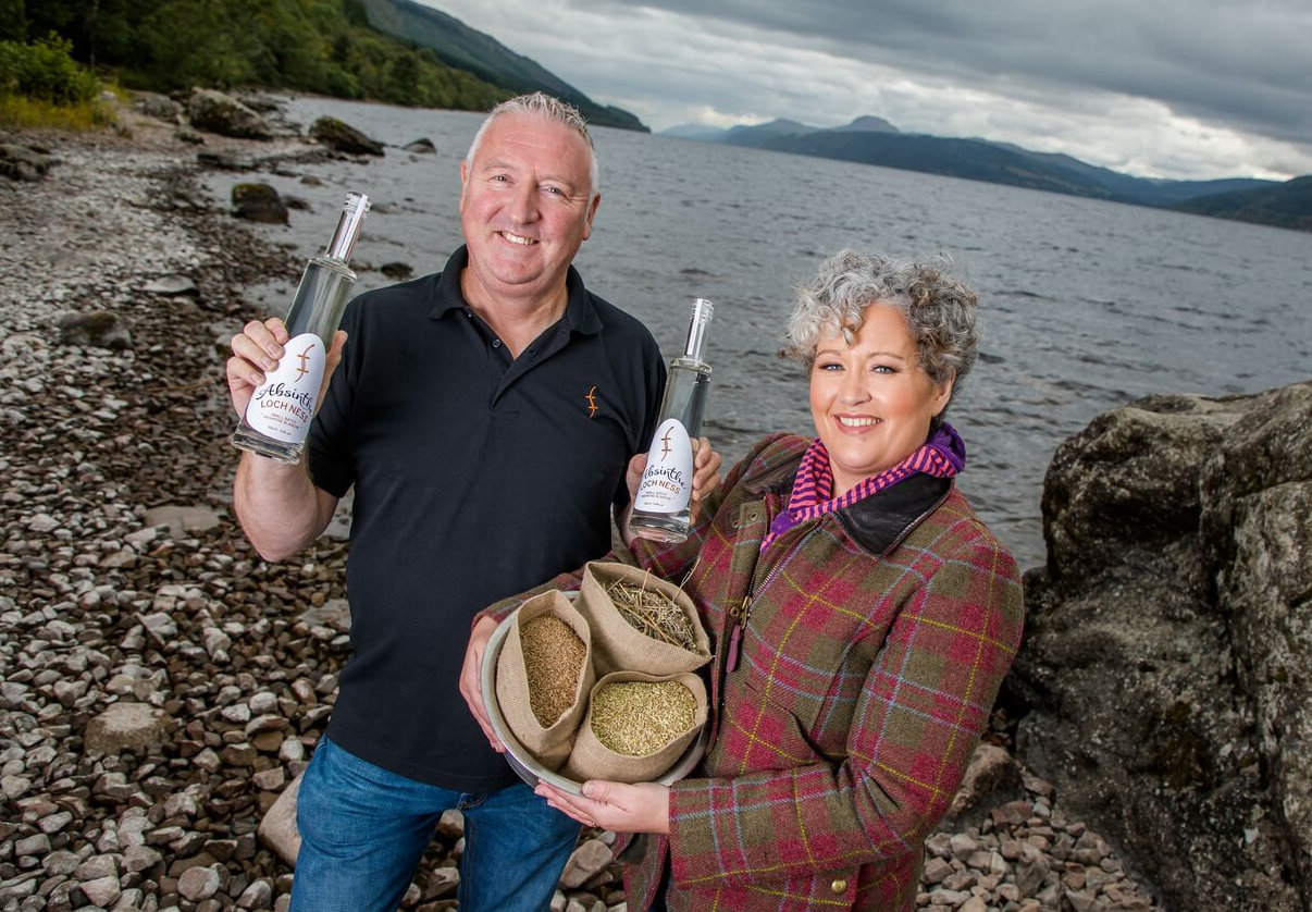 Lorien and Kevin Cameron-Ross of Loch Ness Spirits