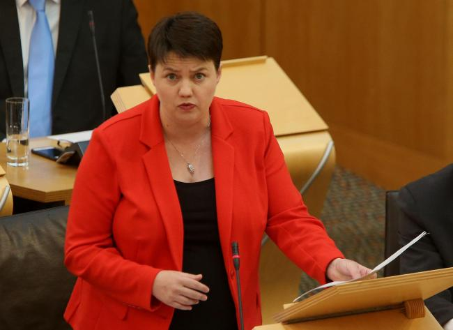 Ruth Davidson is being recruited to give the Tories some clout in Scotland