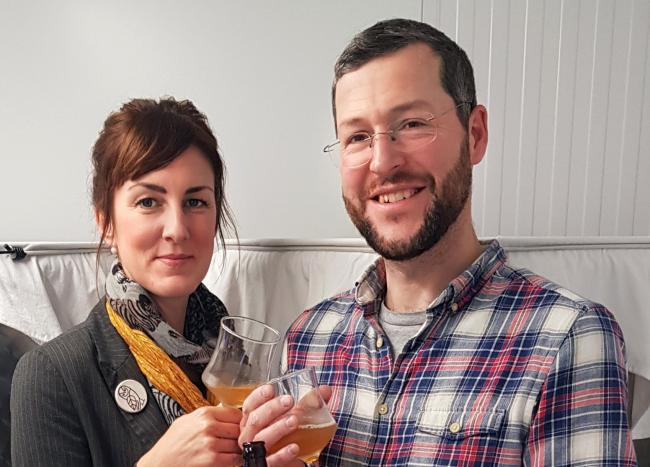 Geraint and Jo Roberts found a gap in the market for a healthy alternative to alcohol, kombucha tea