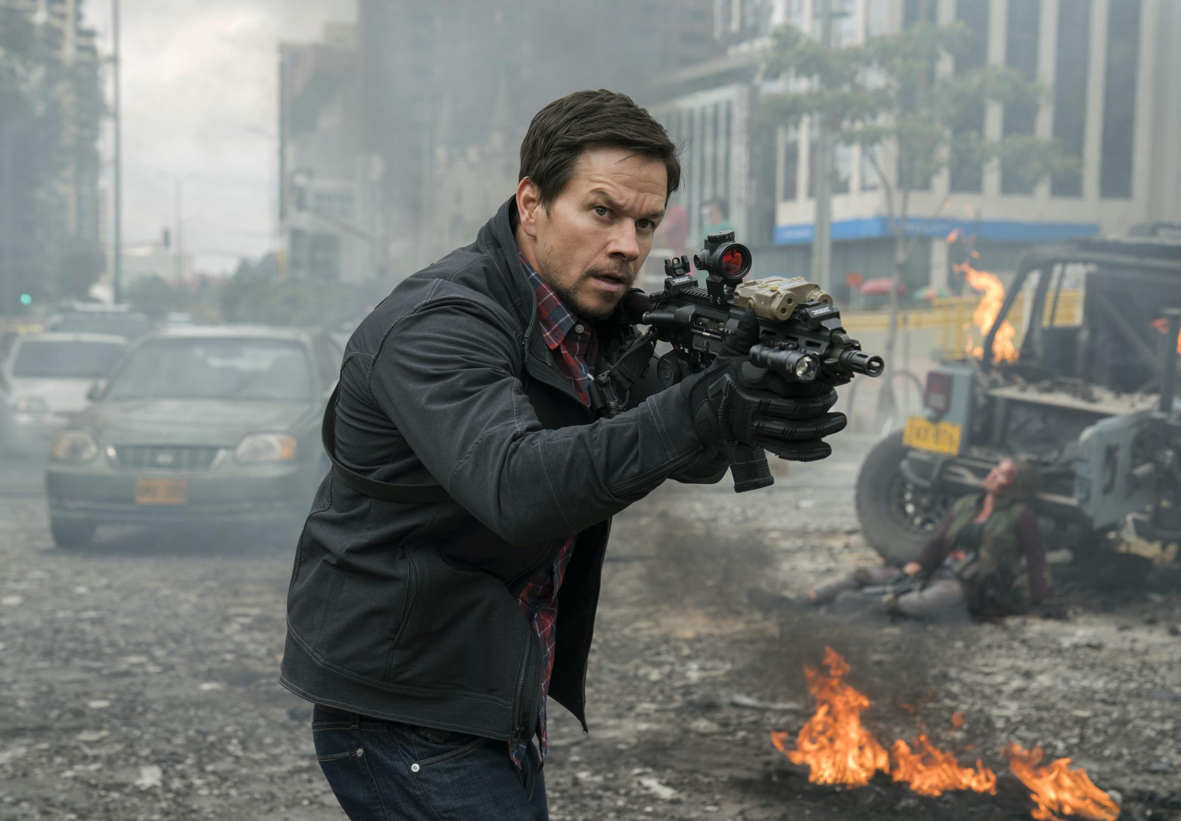 Mark Wahlberg stars as Jimmy Silva, leader of a secret command unit