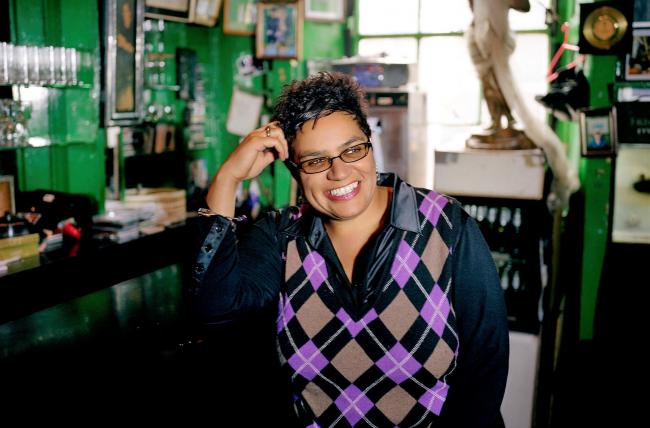 Jackie Kay has defended her right to protest despite her non-political role. Photograph: Mary McCartney