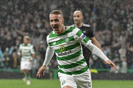 Celtic striker Leigh Griffiths.