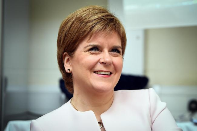 First Minister Nicola Sturgeon quit a BBC co-hosted event