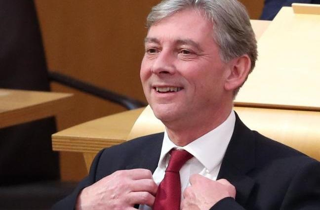 Richard Leonard corrected his boss, saying Labour will commit to opposing a second independence referendum in its next UK election manifesto