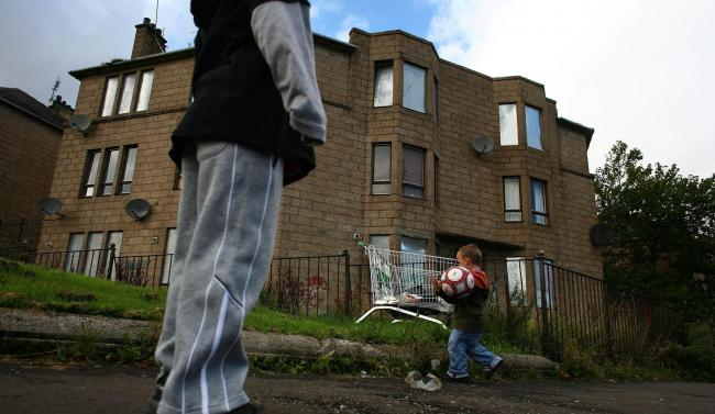 Scotland is the only country in the UK to set statutory targets to reduce child poverty