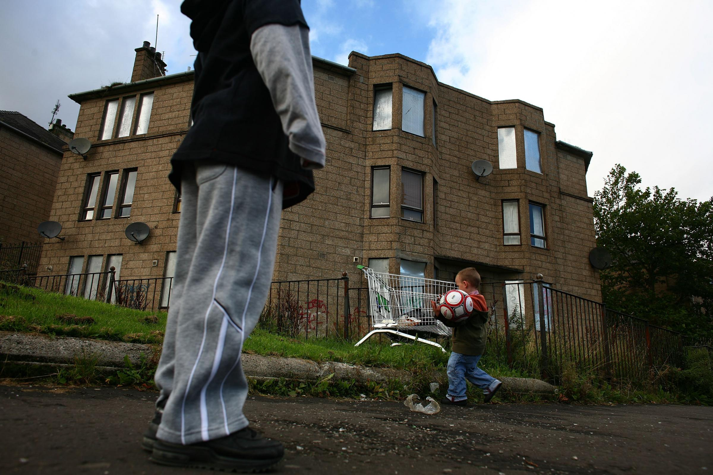 The Scottish Government aims to cut child poverty to one in 10 by 2030