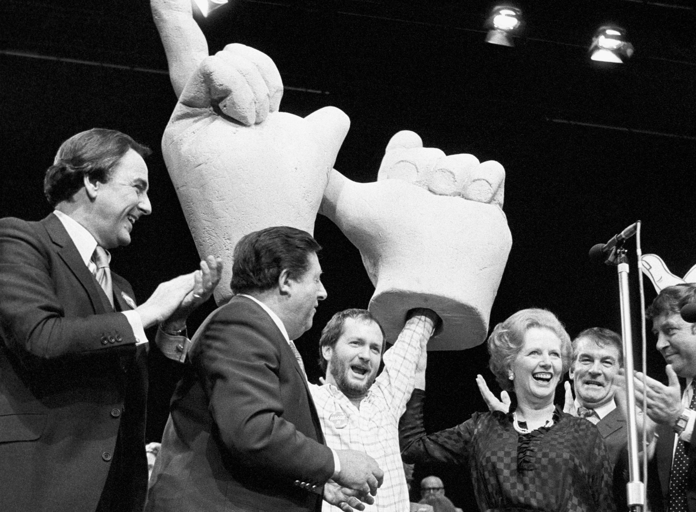 Comedian Kenny Everett gave a prescient take on Conservative policy in 1983