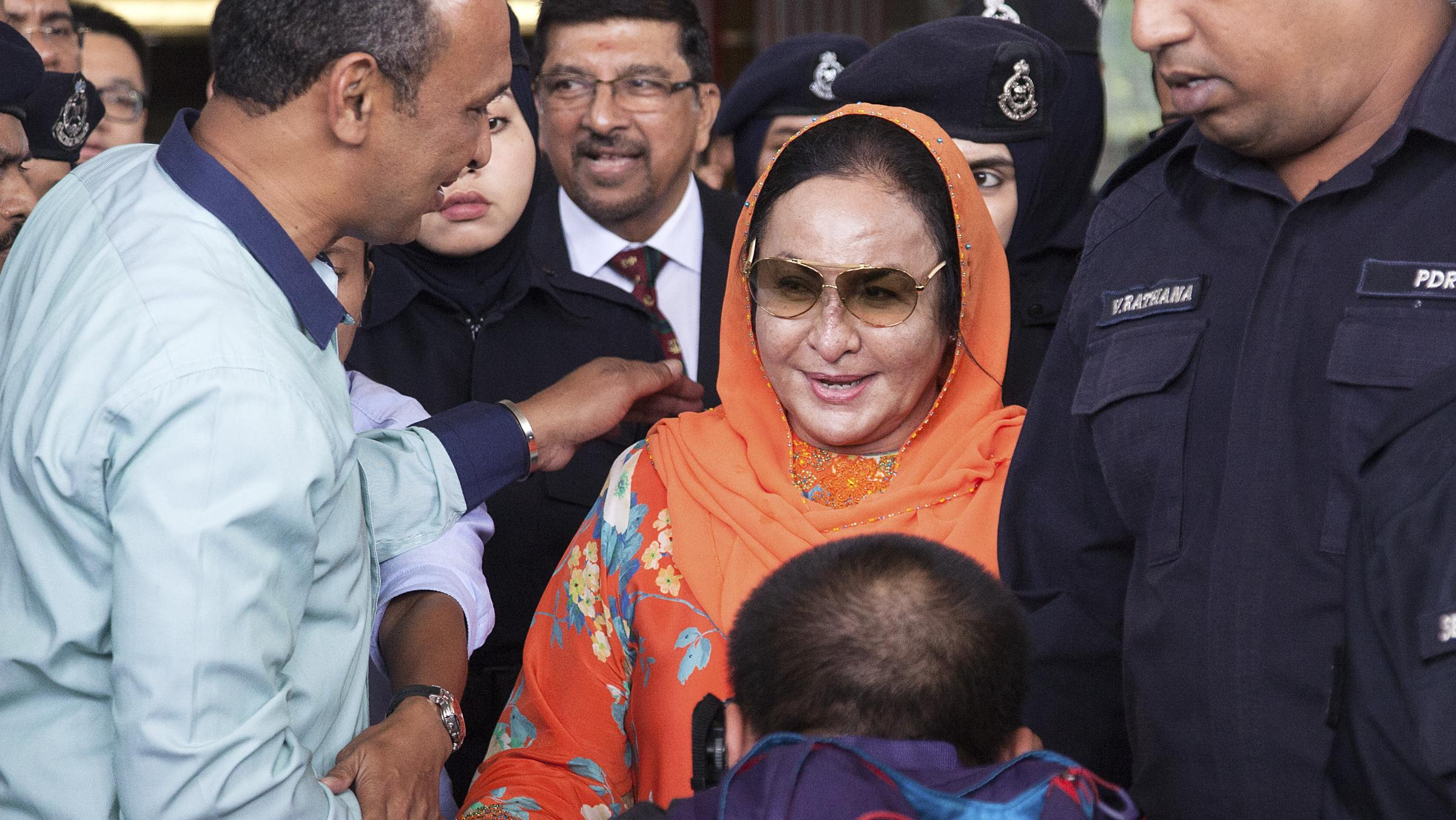 Rosmah Mansor pleaded not guilty to 12 counts of money laundering