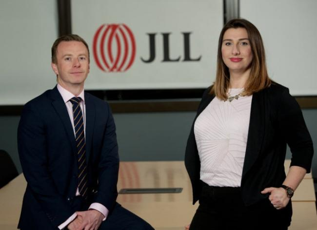 Alistair Reid and Angela White of JLL, who provided the data on office take-up