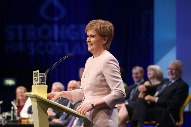 READ: Nicola Sturgeon's full conference speech at #SNP19