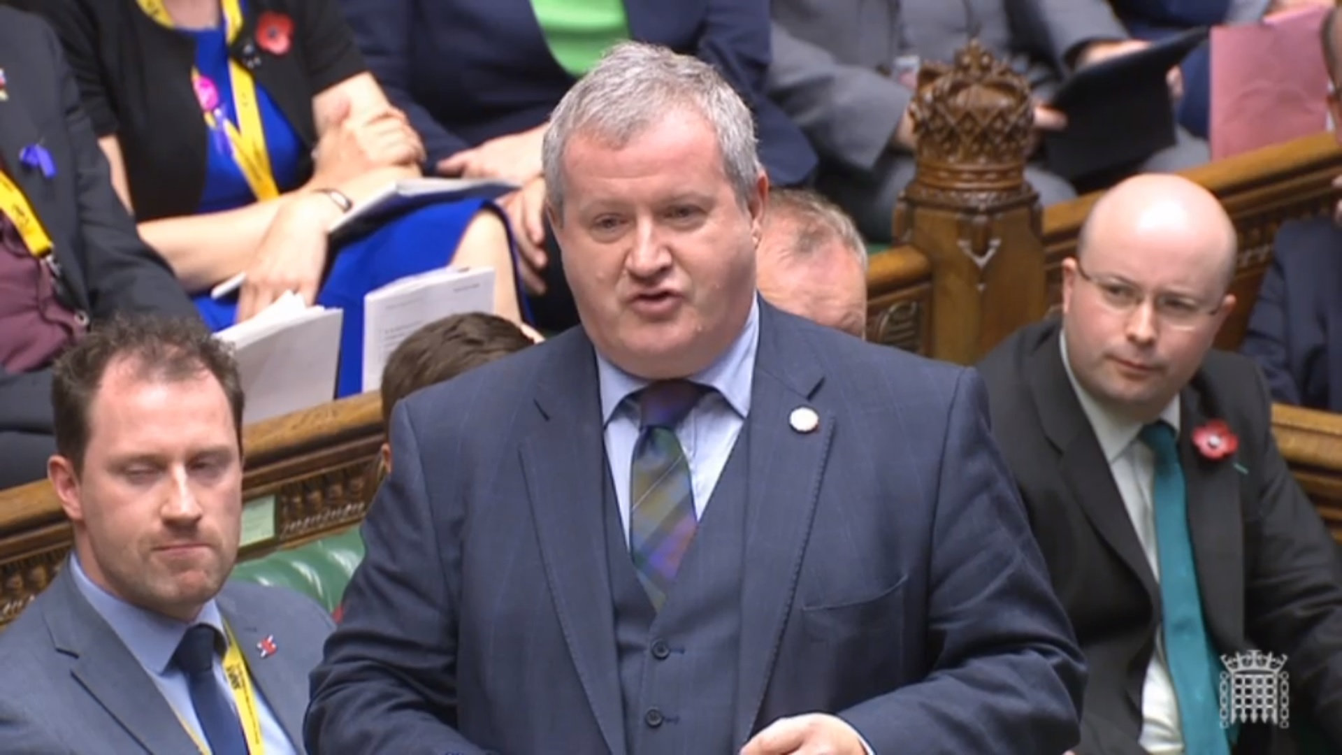 SNP Westminster leader Ian Blackford will head to Brussels later this month