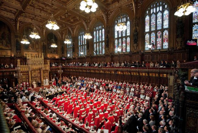 The new Bill also suggests replacing the House of Lords with an elected chamber