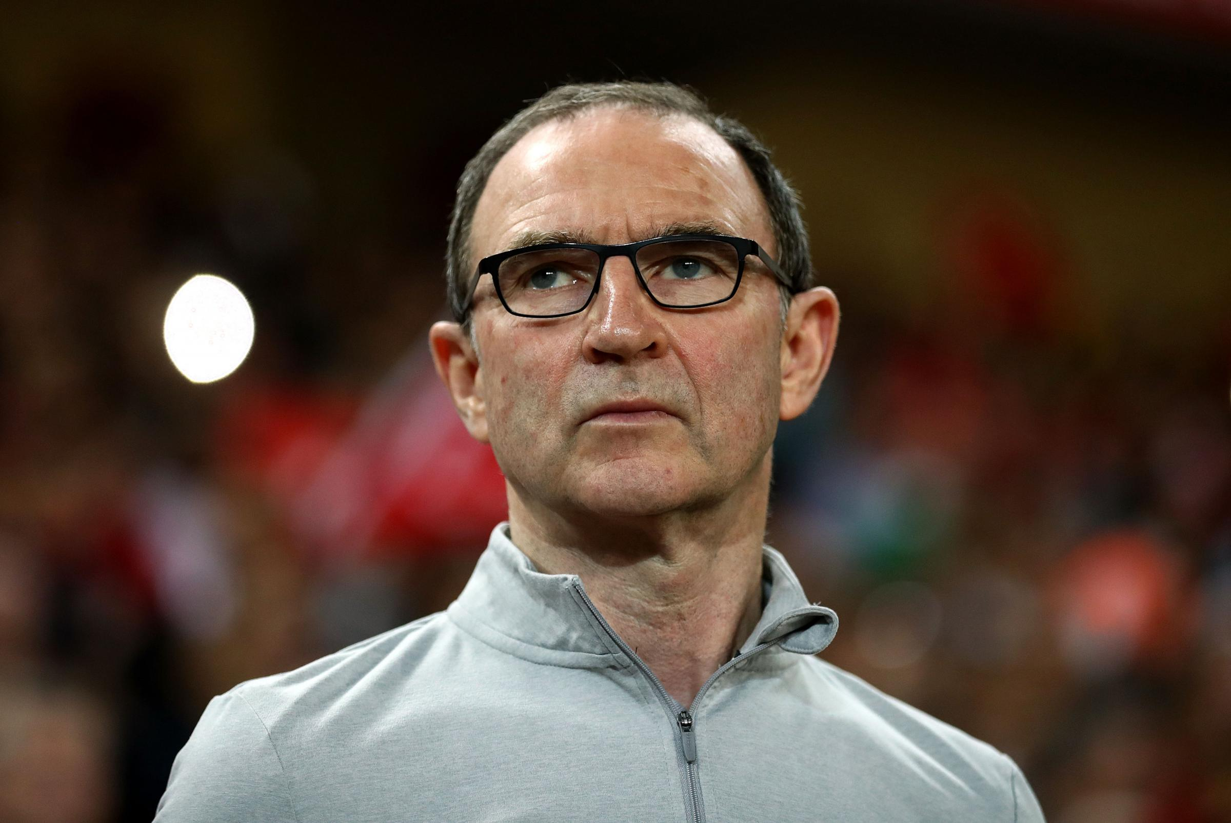 Republic of Ireland manager Martin O'Neill during the international friendly match at the Antalya Stadium. PRESS ASSOCIATION Photo. Picture date: Friday March 23, 2018. See PA story SOCCER Turkey. Photo credit should read: Tim Goode/PA W