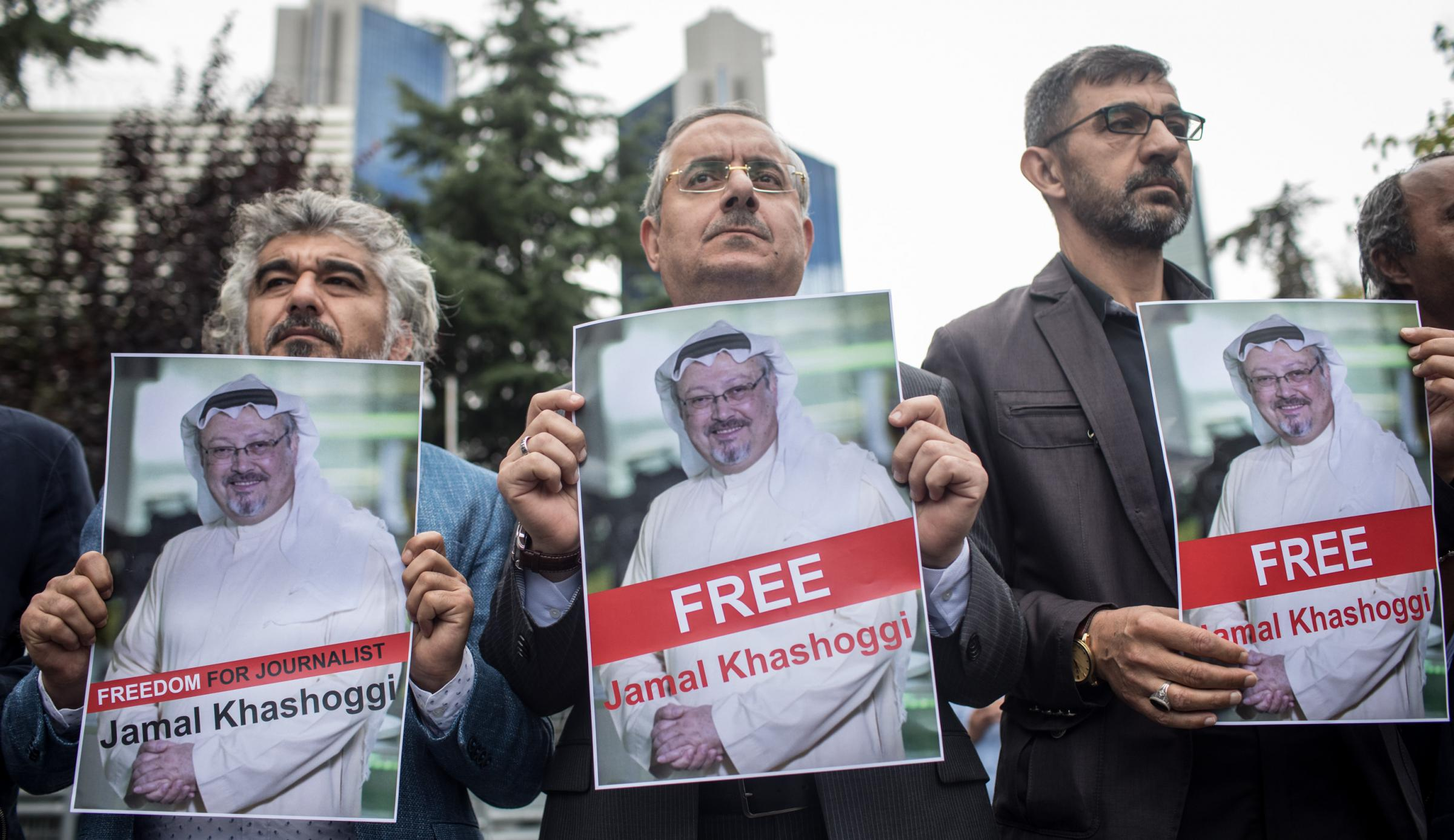 The names are reportedly associated with the disappearance of journalist Jamal Khashoggi