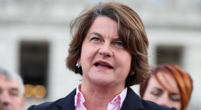 DUP leader Arlene Foster has revolted against Brexit plans which would affect Northern Ireland