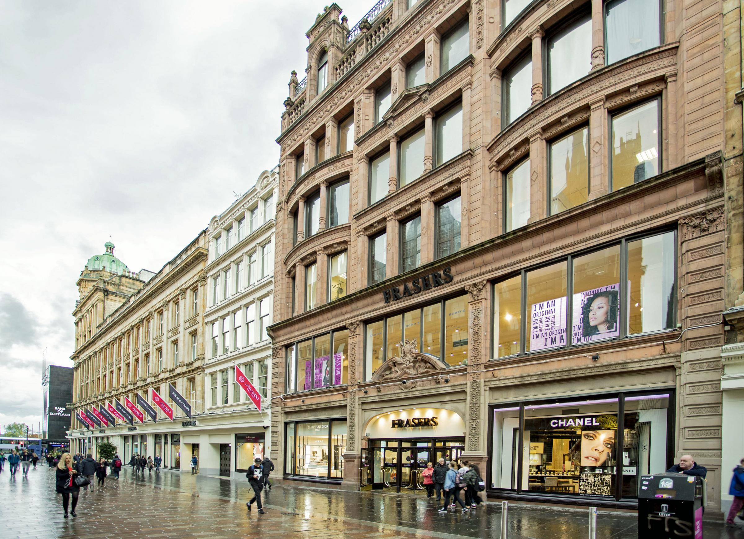 The Frasers store in Glasgow