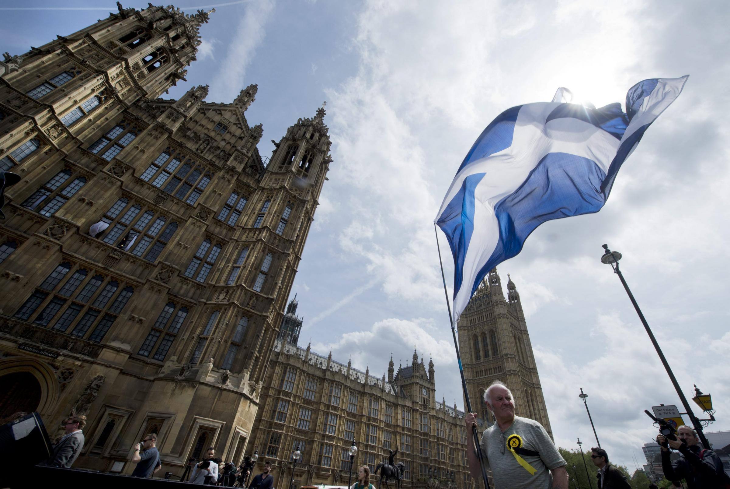 Scottish taxes will help pay for the renovation of the Palace of Westminster