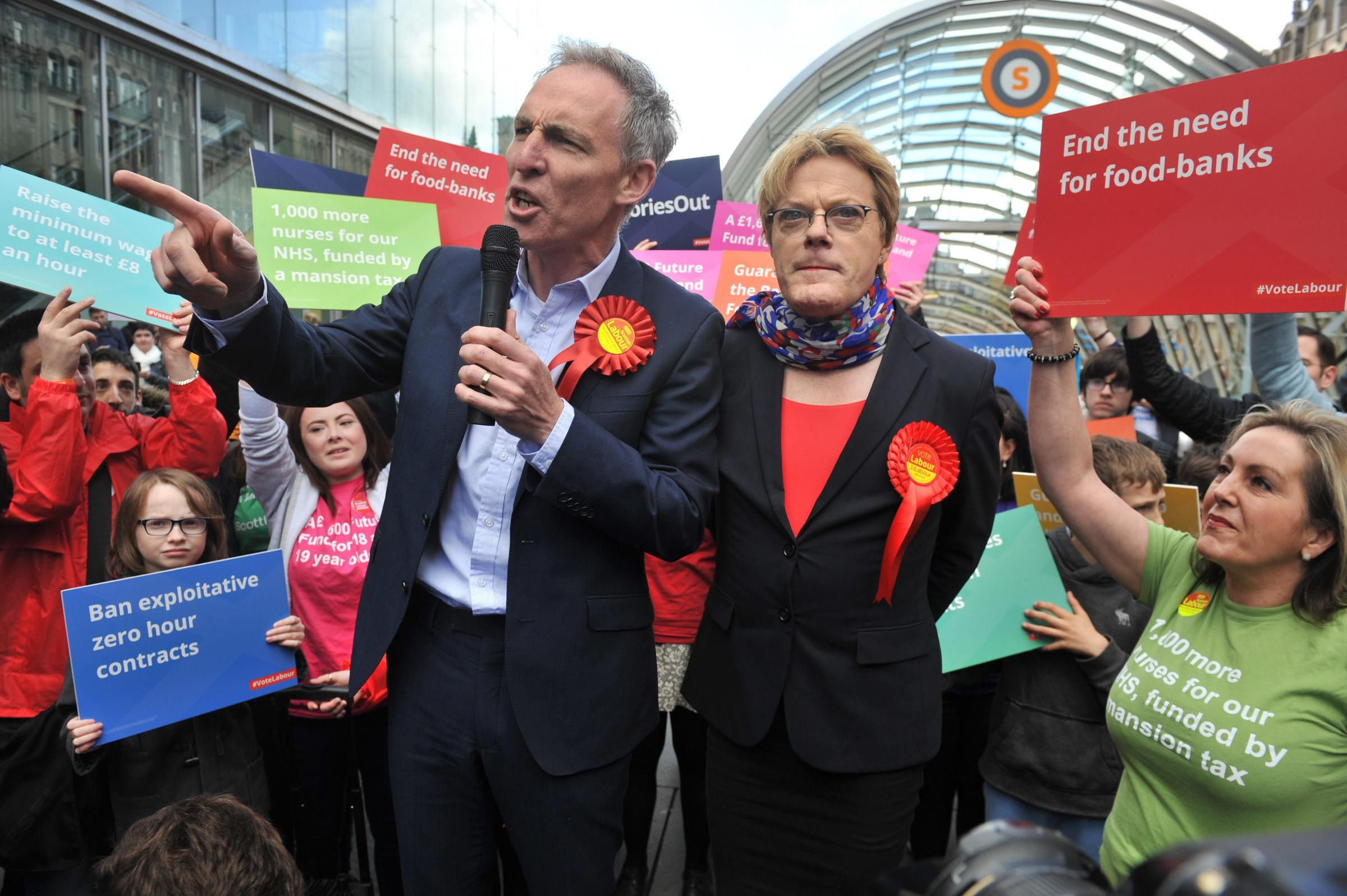 Eddie Izzard was among the famous names who pleaded with us to stay in the Union