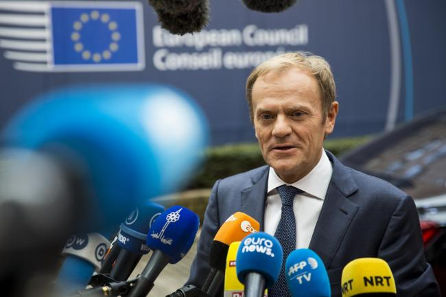 European Council president Donald Tusk has said Theresa May will need to offer more than 'goodwill'