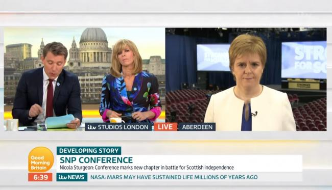 The Ofcom investigation relates to a Good Morning Britain interview back in June