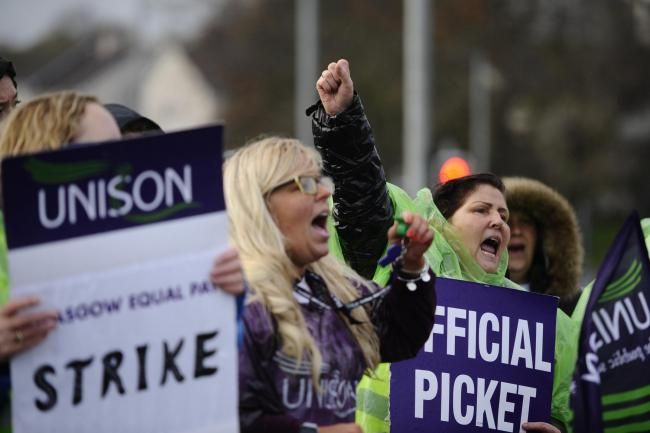 Trade union Unison has voted to back a second Scottish independence referendum