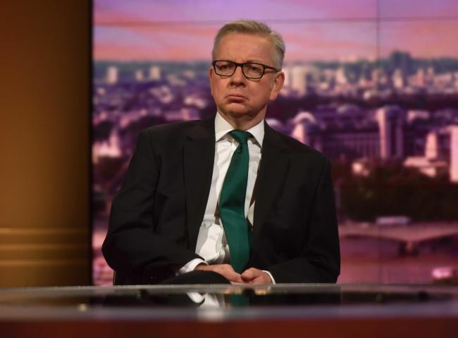 Michael Gove claims the bill will
