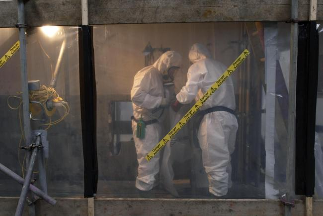 Tighter regulation on asbestos was only introduced in the 1980s
