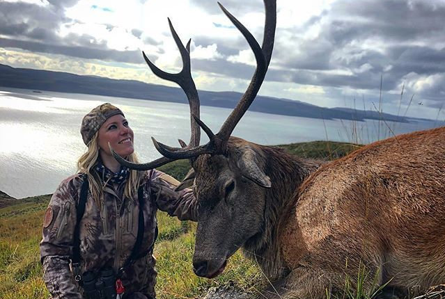 Larysa Switlyk's disturbing social media posts have prompted a review of the laws governing hunting in Scotland