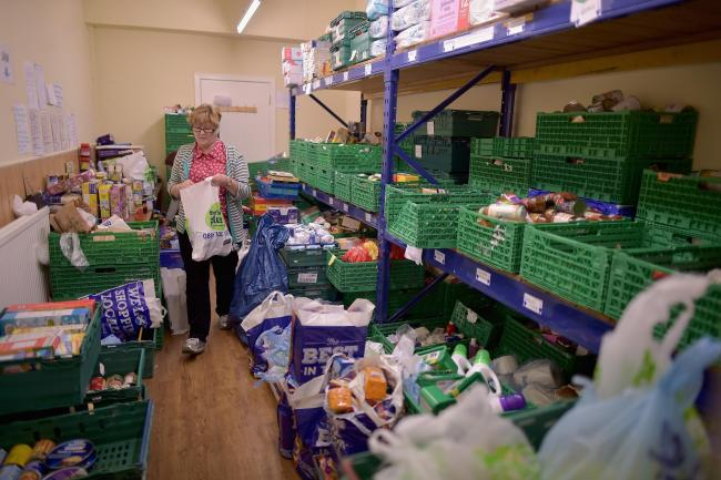 Last year the Trussell Trust handed out 170,000 food parcels in Scotland, a rise of 17% since 2016
