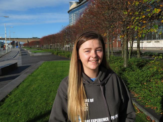 19-year-old Lauren from Shetland wants people to stay informed throughout Care Experienced Week