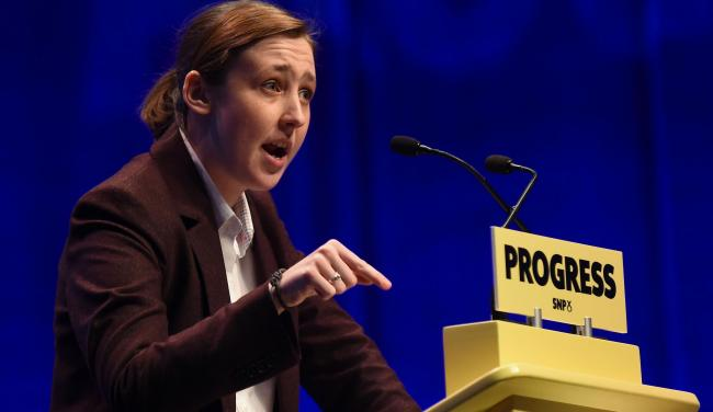 Mhairi Black: 'People are now starting to realise that children are not in care because they are a problem'