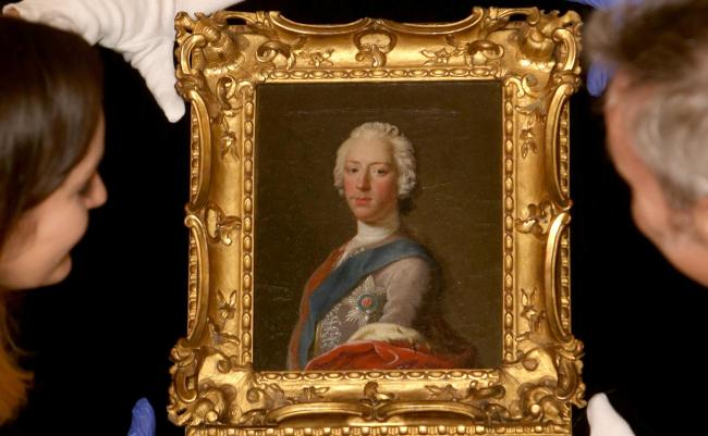 Prince Charles' portrait can be found in the Scottish National Portrait Gallery