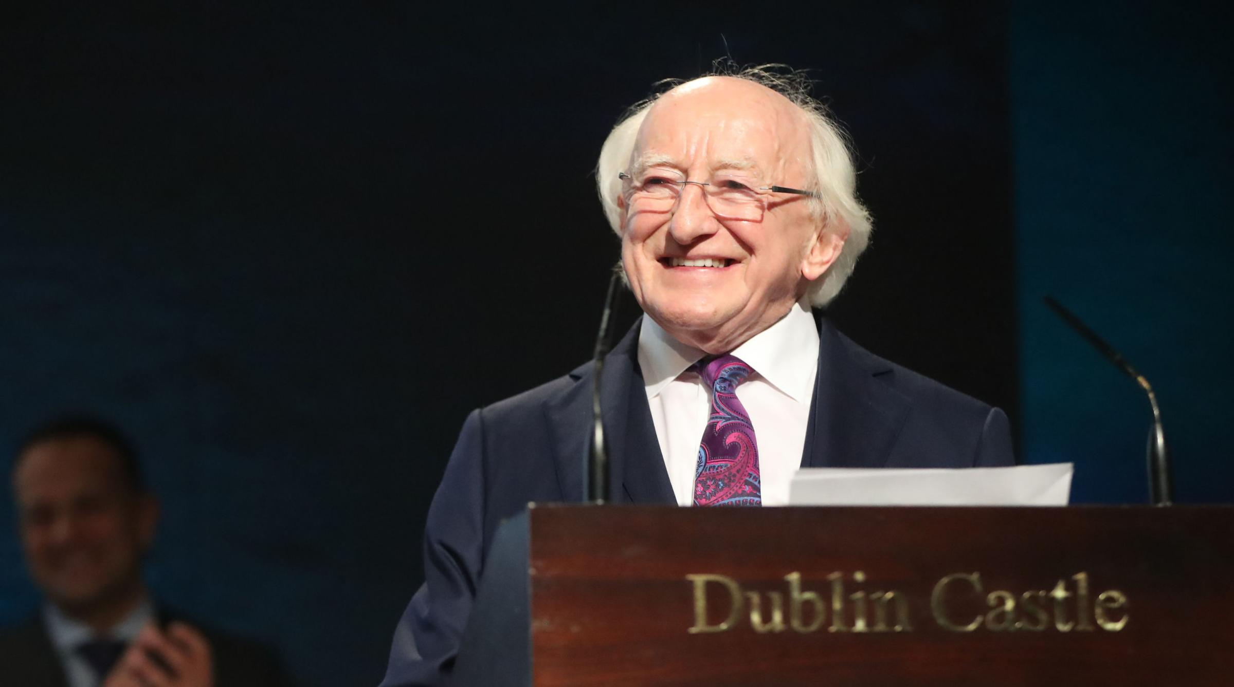 In his speech to the country, Michael D Higgins talked of shared possibilities