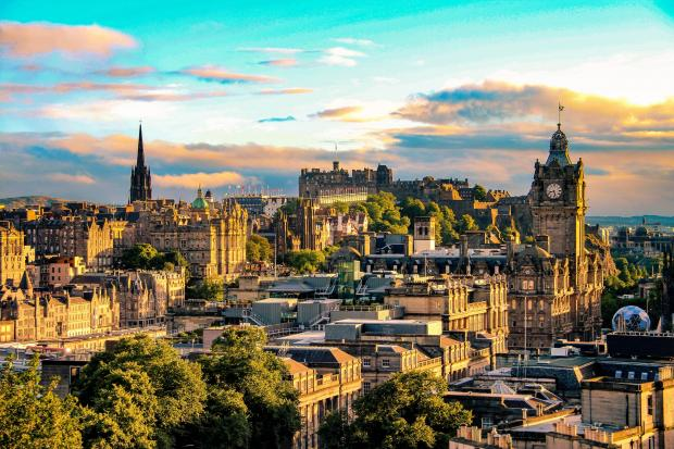 The National: Edinburgh, along with Glasgow, 'outperformed' the rest of the UK from 2014 to 2016 in terms of investment