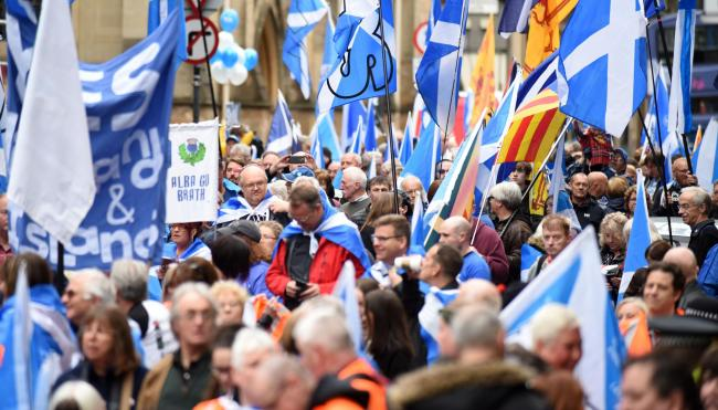 The People's Vote may slow momentum towards another independence referendum