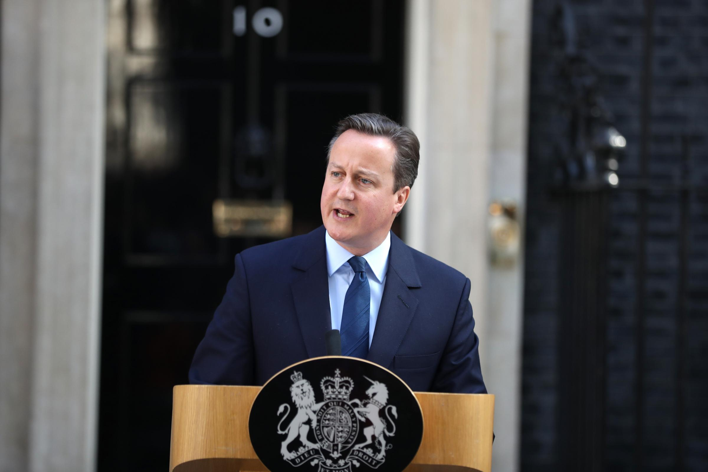 David Cameron resigned following the 2016 Brexit referendum