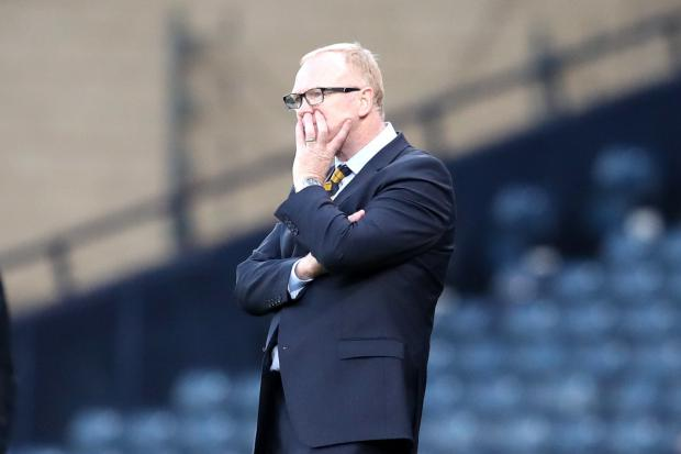 The National: Scotland manager Alex McLeish insists he can handle the pressure he's currently facing