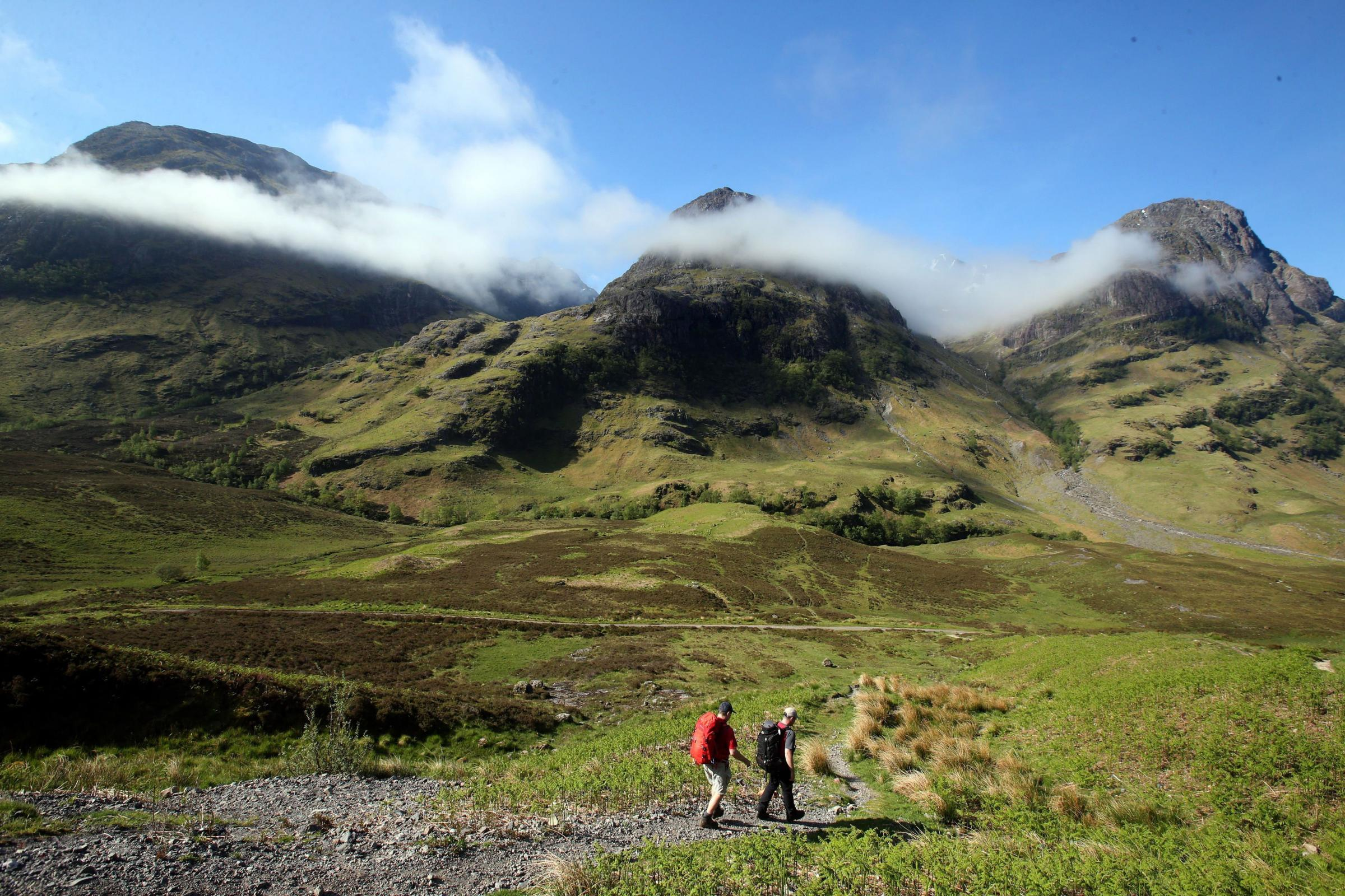 There are 40 locations with National Scenic Area (NSA) status in Scotland, including Glen Coe