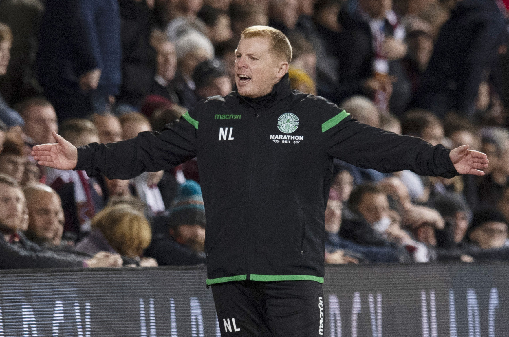 Neil Lennon mocked disappointed Hearts fans following a disallowed goal