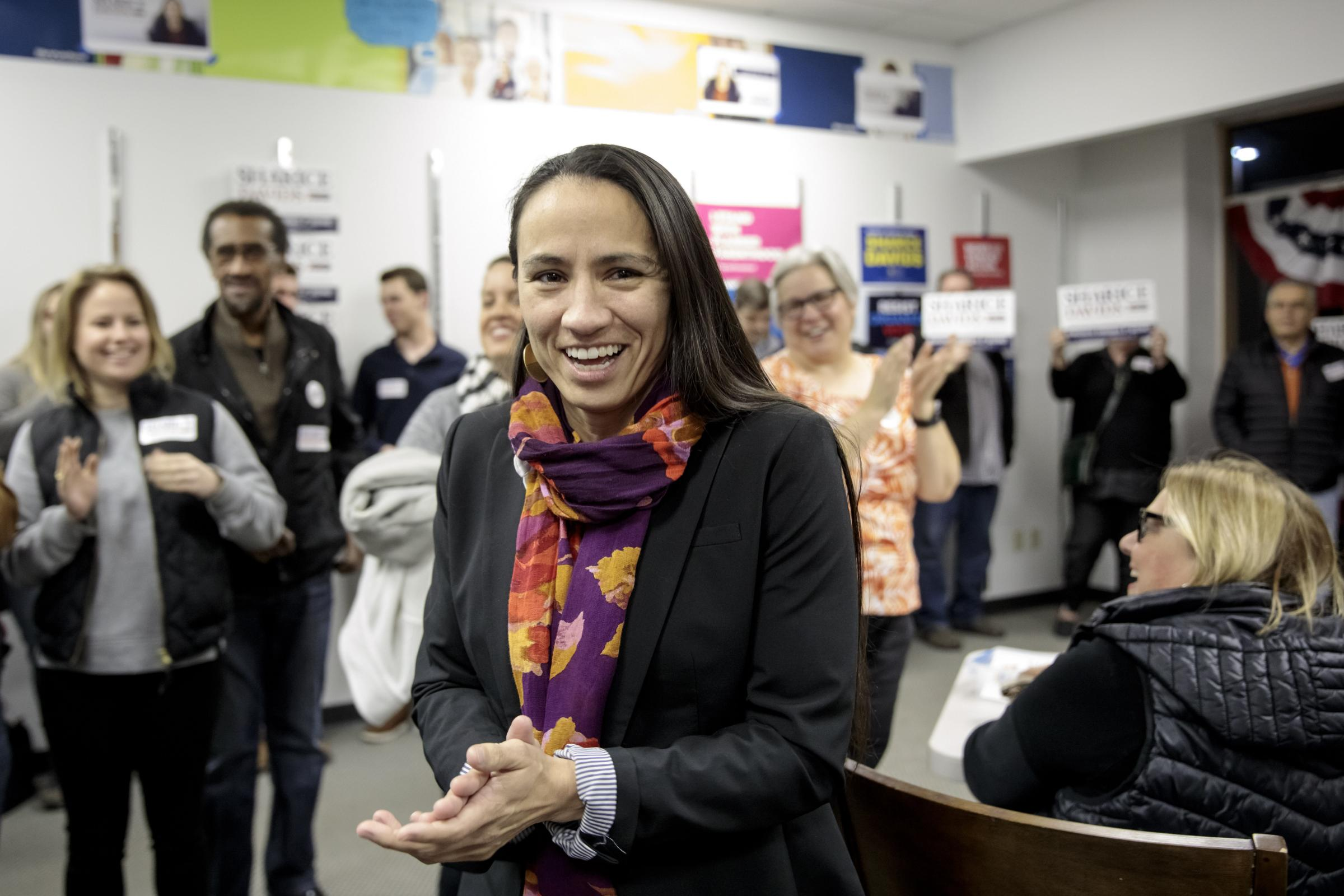 Sharice Davids of Kansas has been elected to the House of Representatives